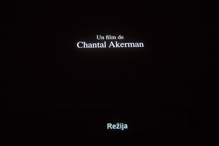 Srečanje s Chantal Akerman