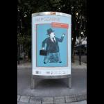 The Unforgettable: Illustration street exhibition