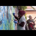 Ženski mural, mitohondrijski zid